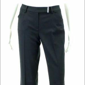 Tahari Black Trouser Pants size 8